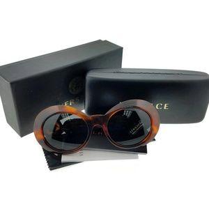 VE4329-521487 Women Brown Havana Frame Sunglasse